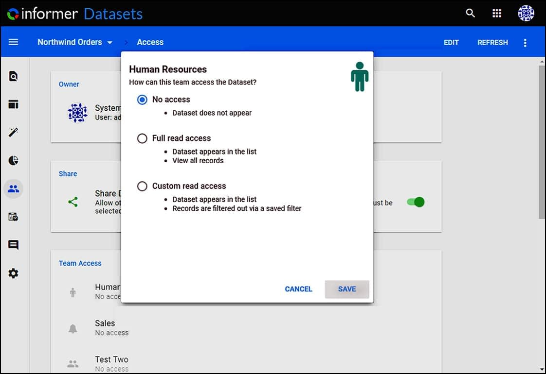 Identity Access Management with Teams
