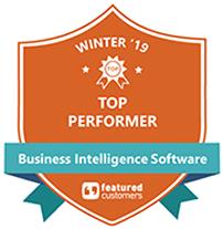 Featured Customers 2019 BI Award Badge logo