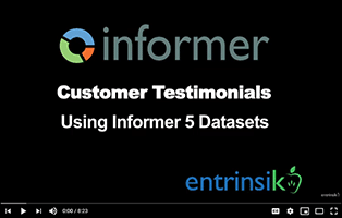 Customers talk about Informer 5 Datasets
